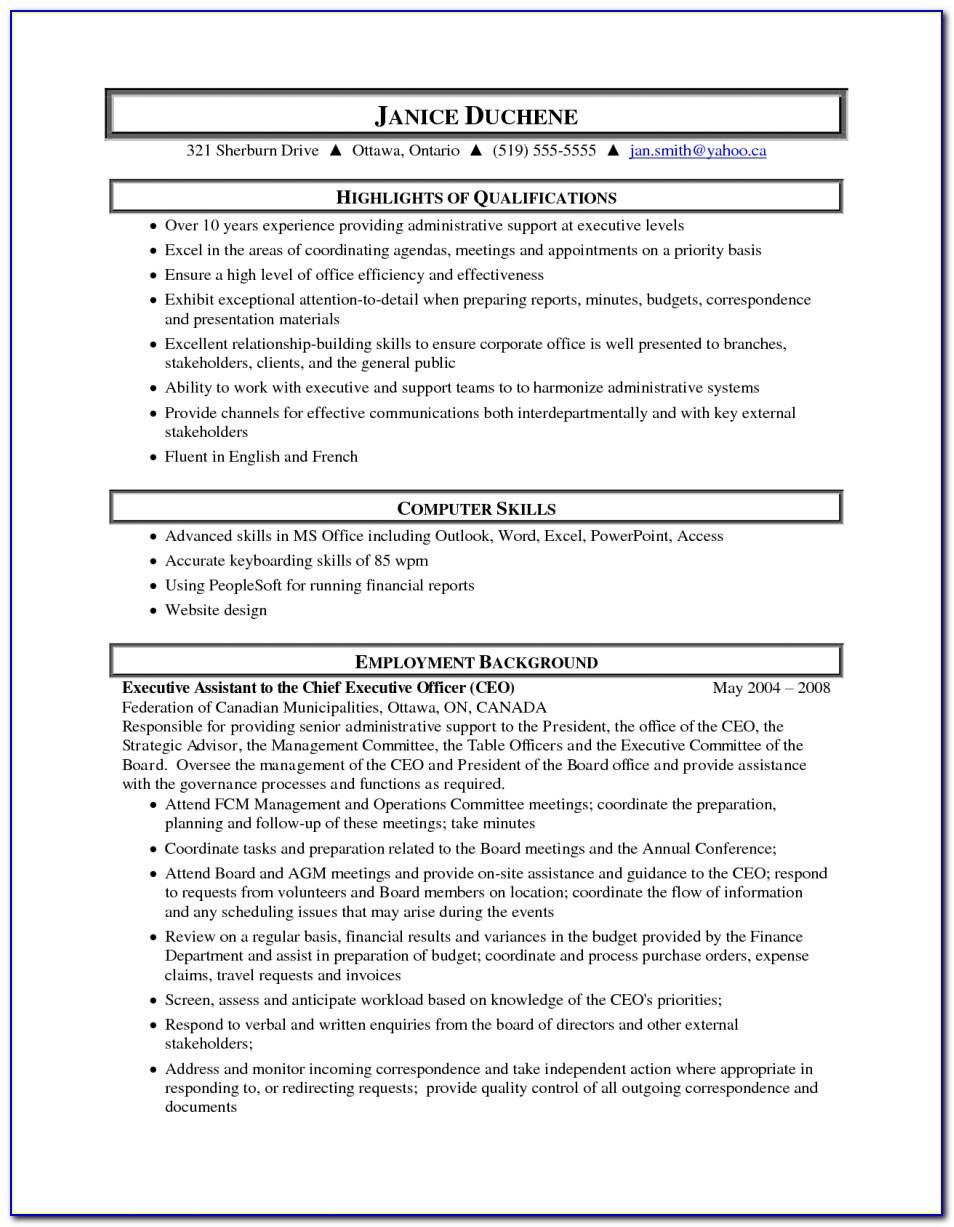 Resume Template Mechanical Engineer Student
