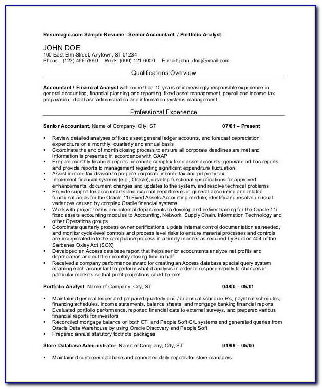 Resume Template Singapore Nus