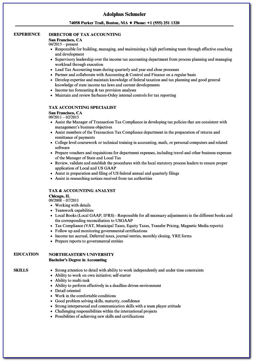 Resume Template Singapore Student