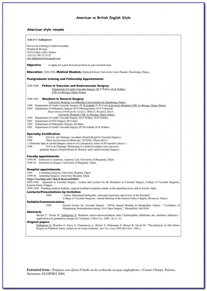 Resume Template Word Mac 2011