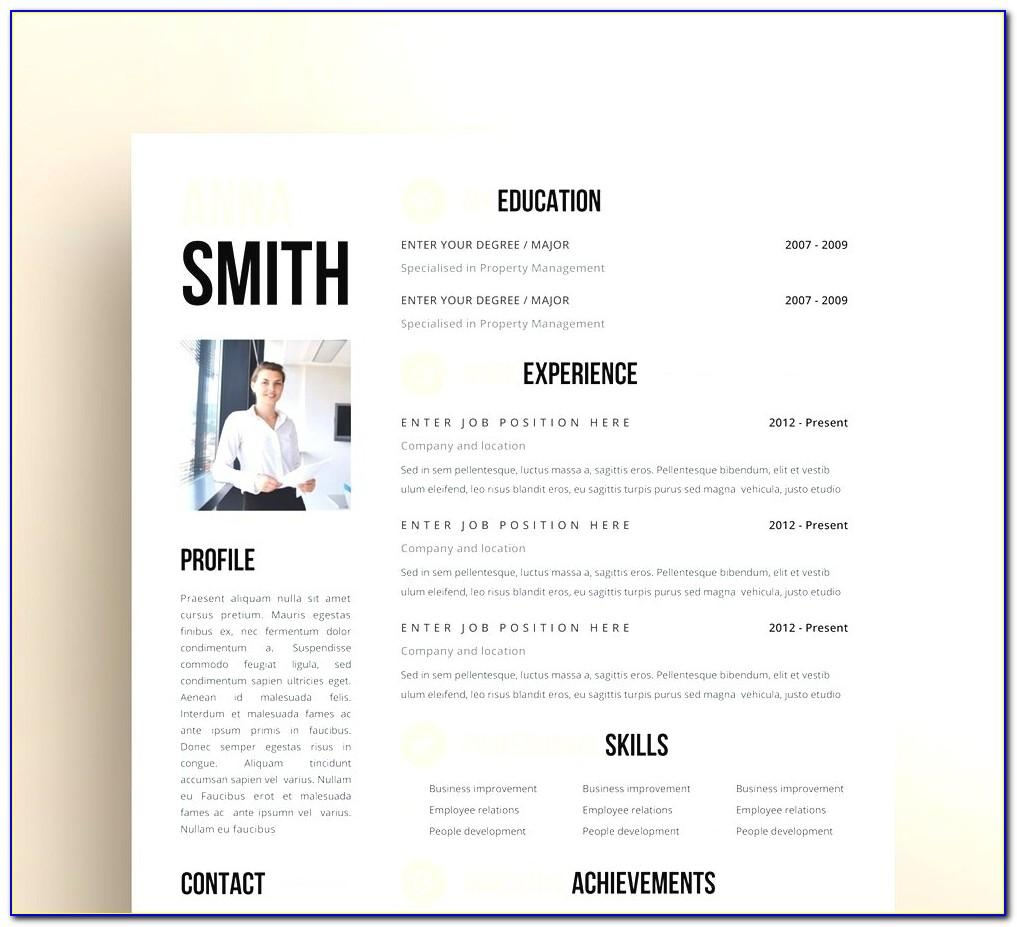Resume Templates For Apple Computers