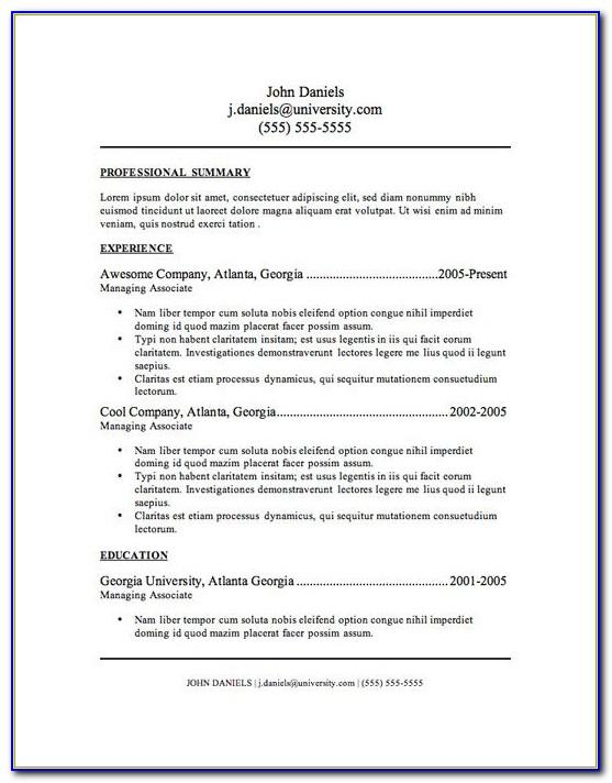 Resume Templates For Entry Level Administrative Assistant