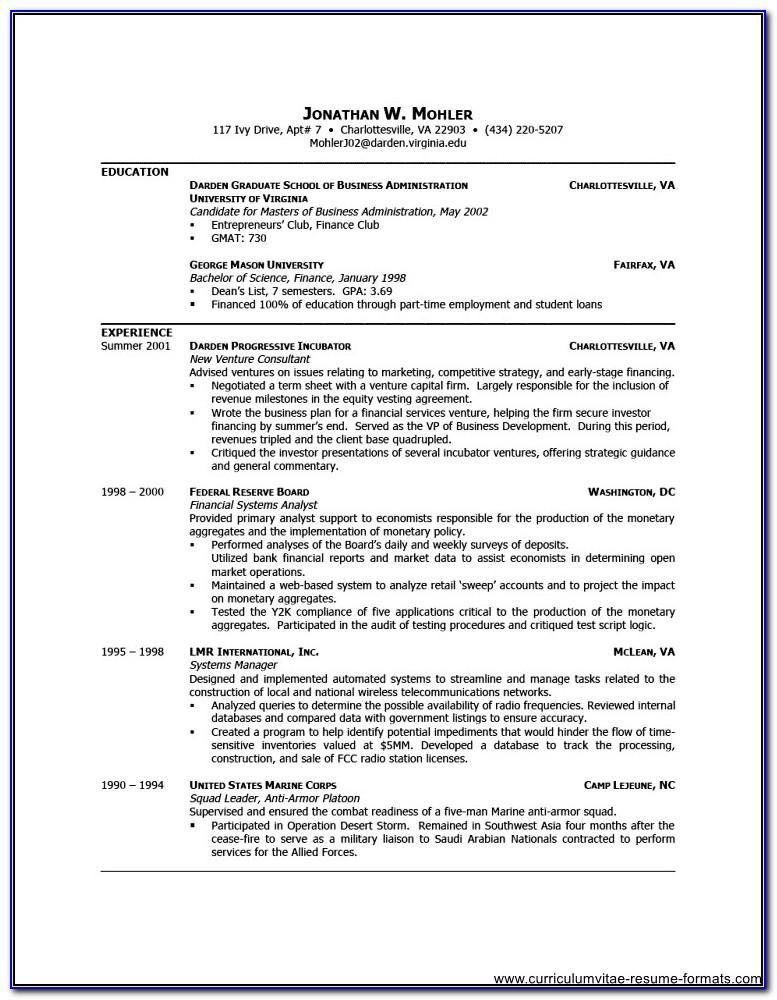 Resume Templates For Executive Administrative Assistant