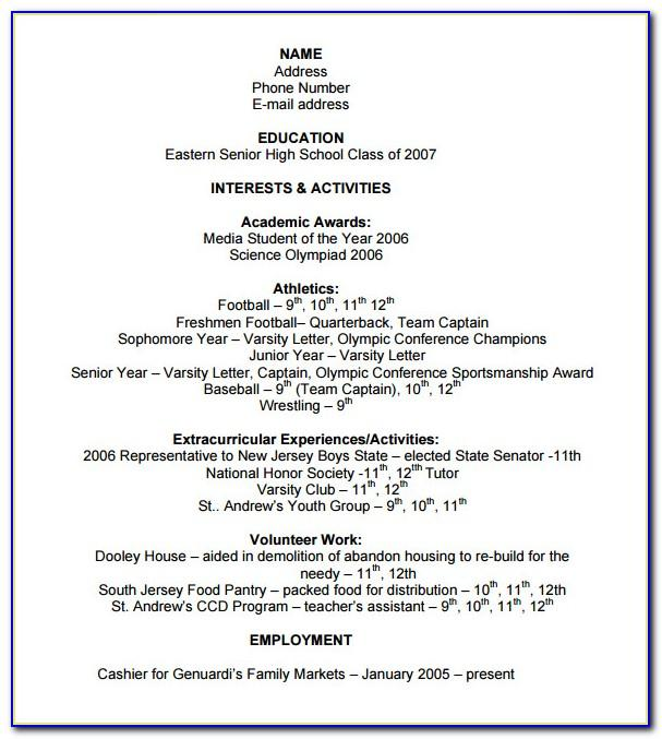 Resume Templates For Experienced Civil Engineers