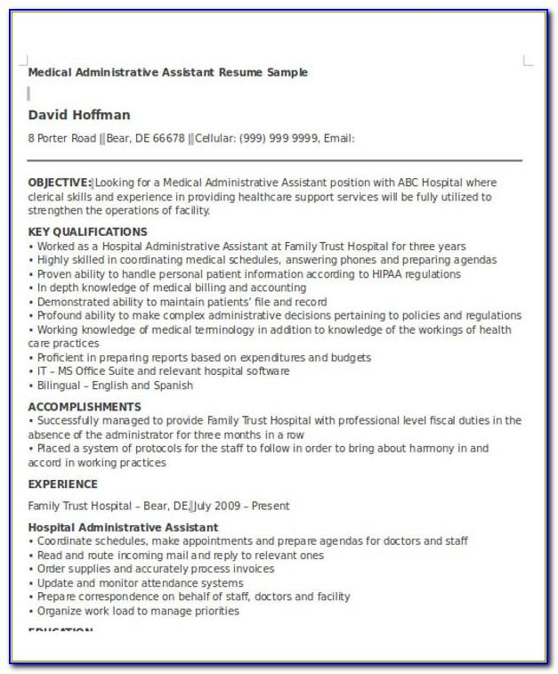 Resume Templates For Mechanical Engineers Free Download
