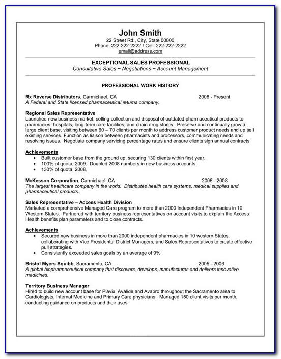 Resume Templates For Sales Assistant