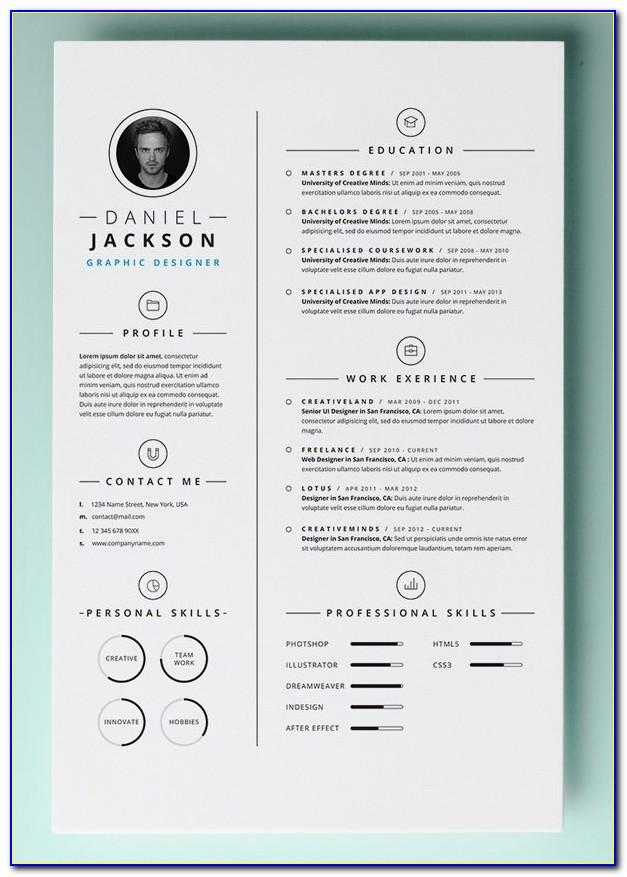 Resume Templates Free Microsoft Word