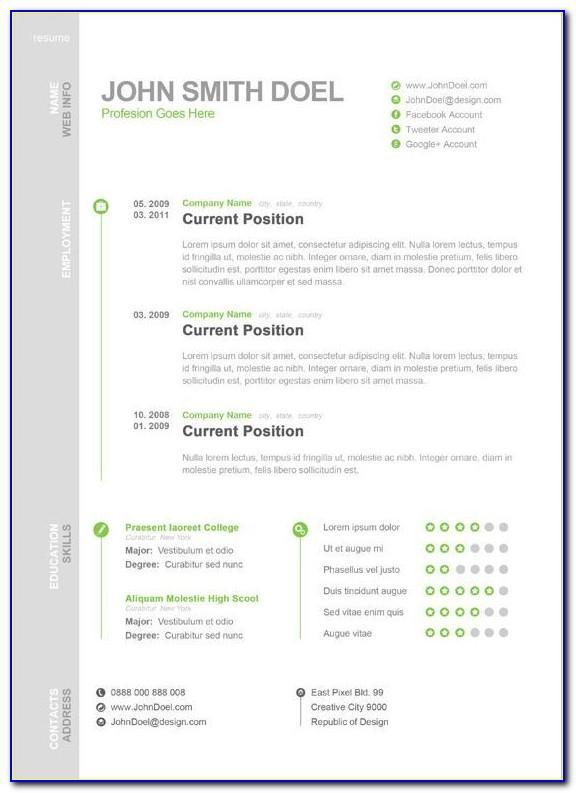 Resume Templates Microsoft Word Starter 2010