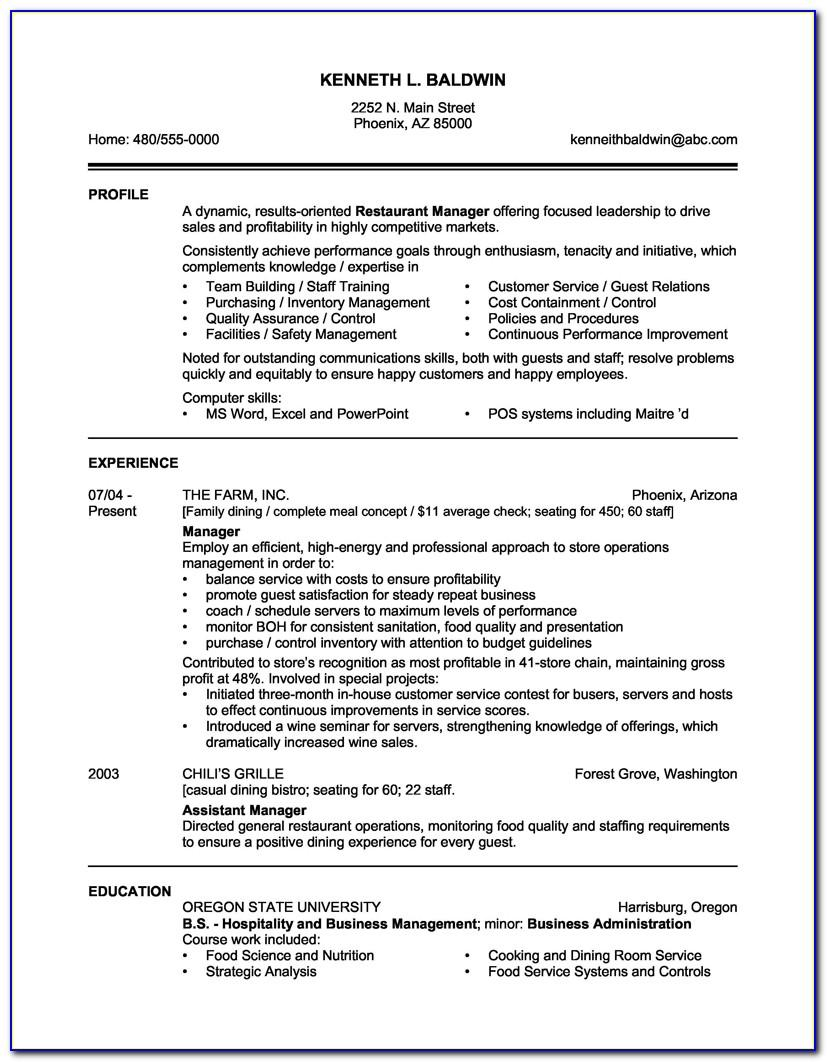 Sample Resume For Nursing Aide With Experience