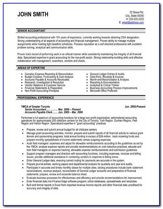 Sample Resume Templates For Construction Workers