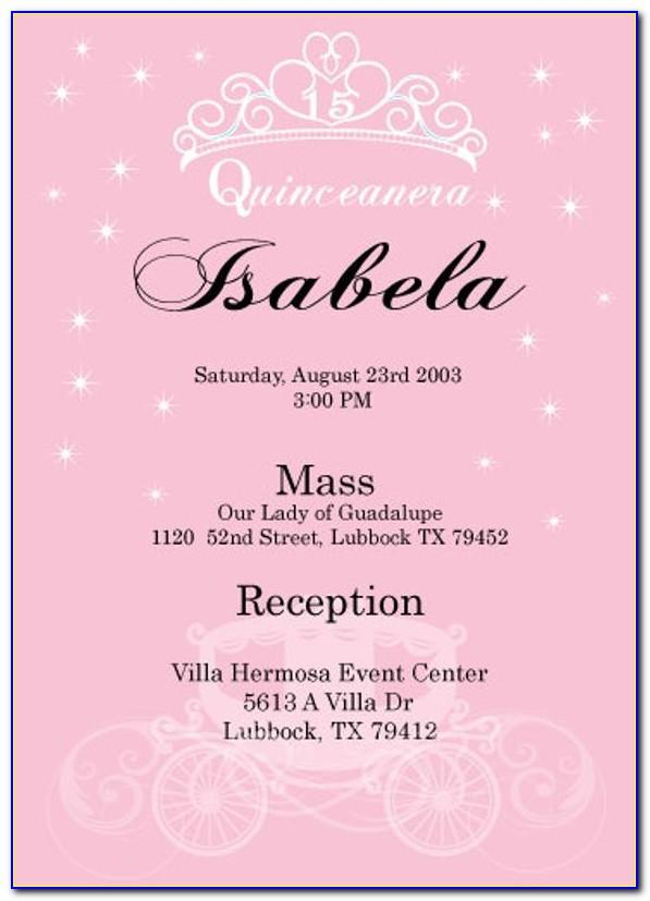 Sample Wedding Invitation Wording In English