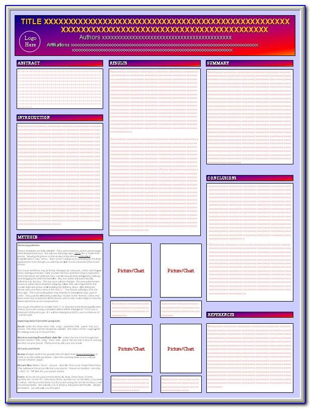 Scientific Poster Template Powerpoint Download
