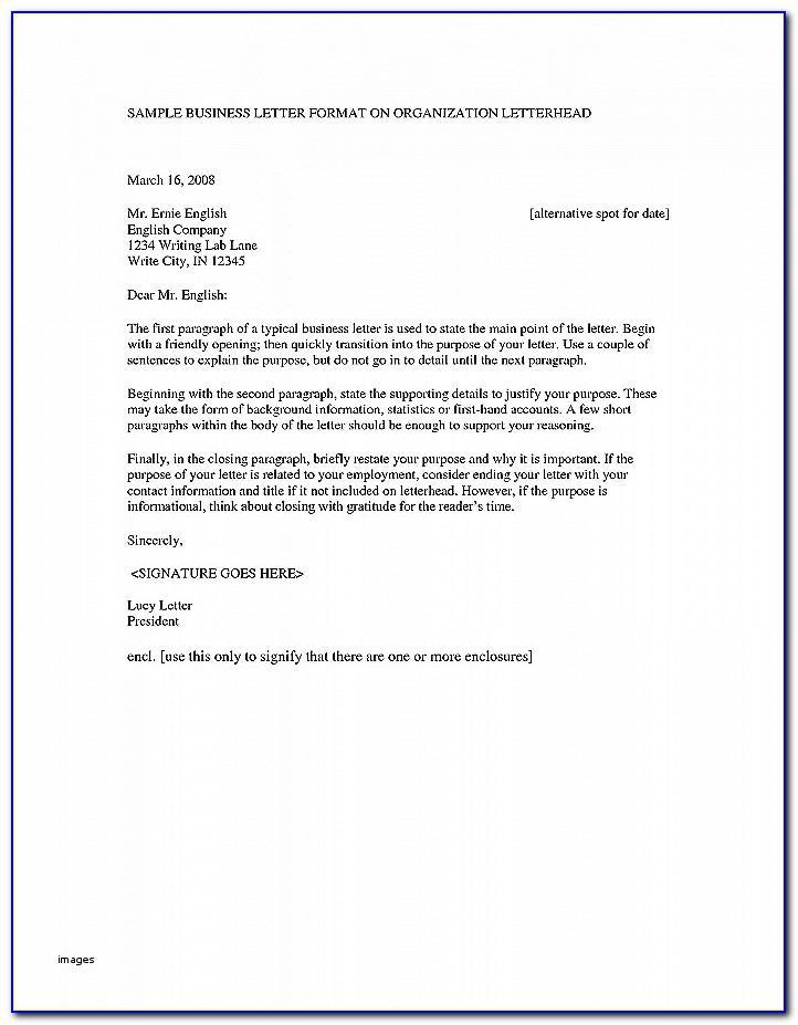 Simple Resignation Letter Template Singapore