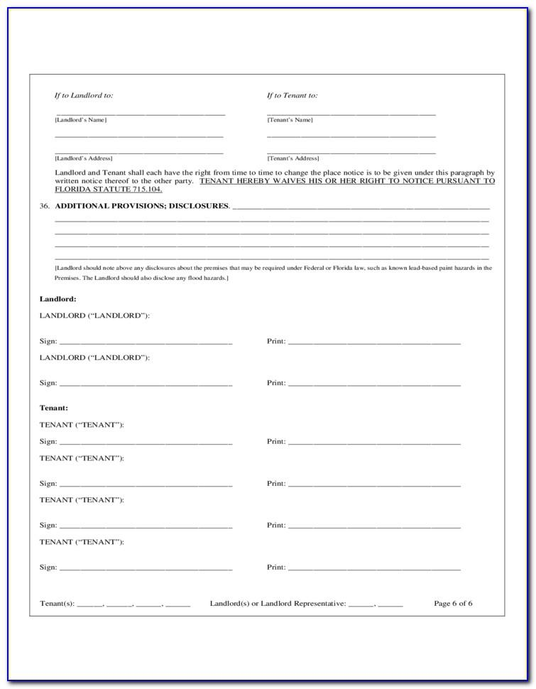 Texas Association Of Realtors Residential Lease Agreement Form