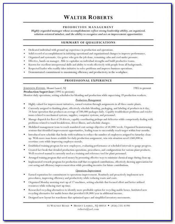 Usajobs Federal Resume Template