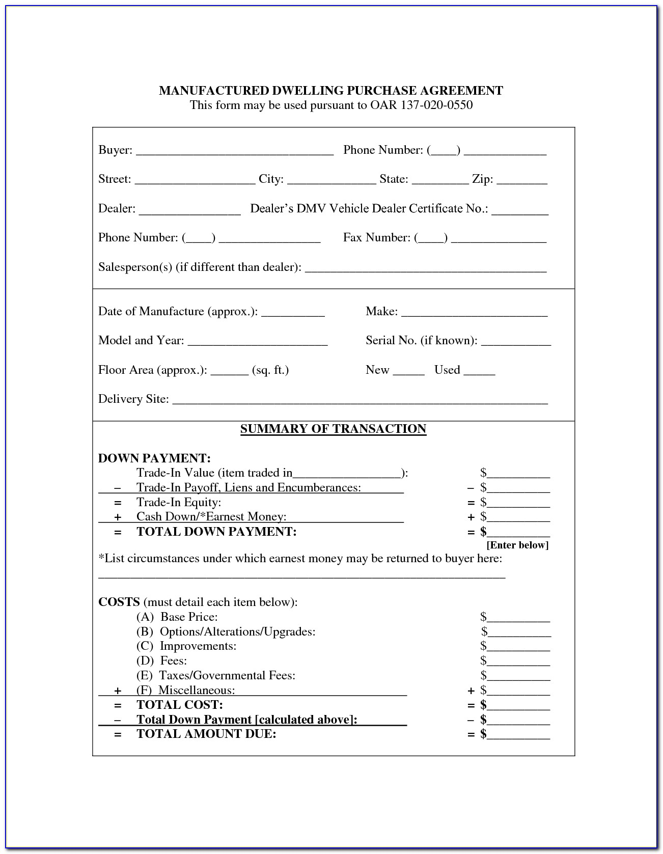 Business Sale And Purchase Agreement Template Nz