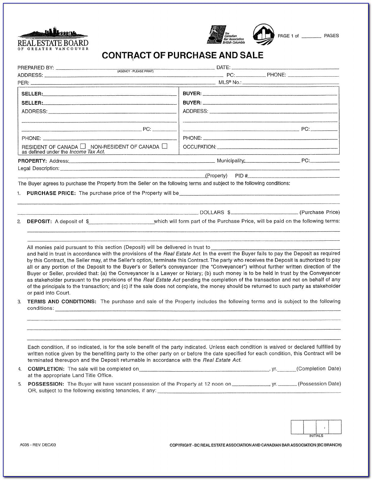 Canadian Promissory Note Template Free