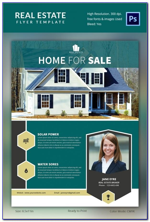 Commercial Real Estate Flyer Template Free
