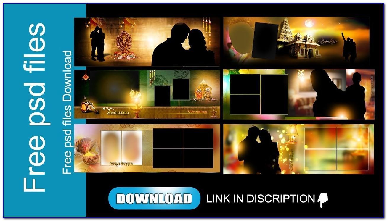 Download Photoshop Wedding Album Psd Templates Files