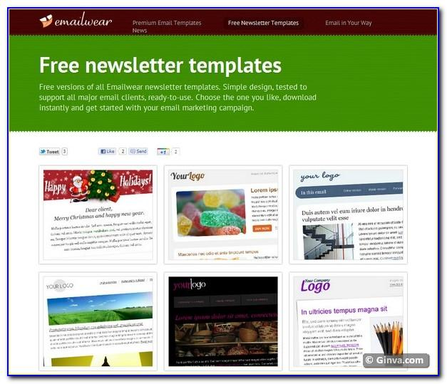 Email Marketing Templates Free Download