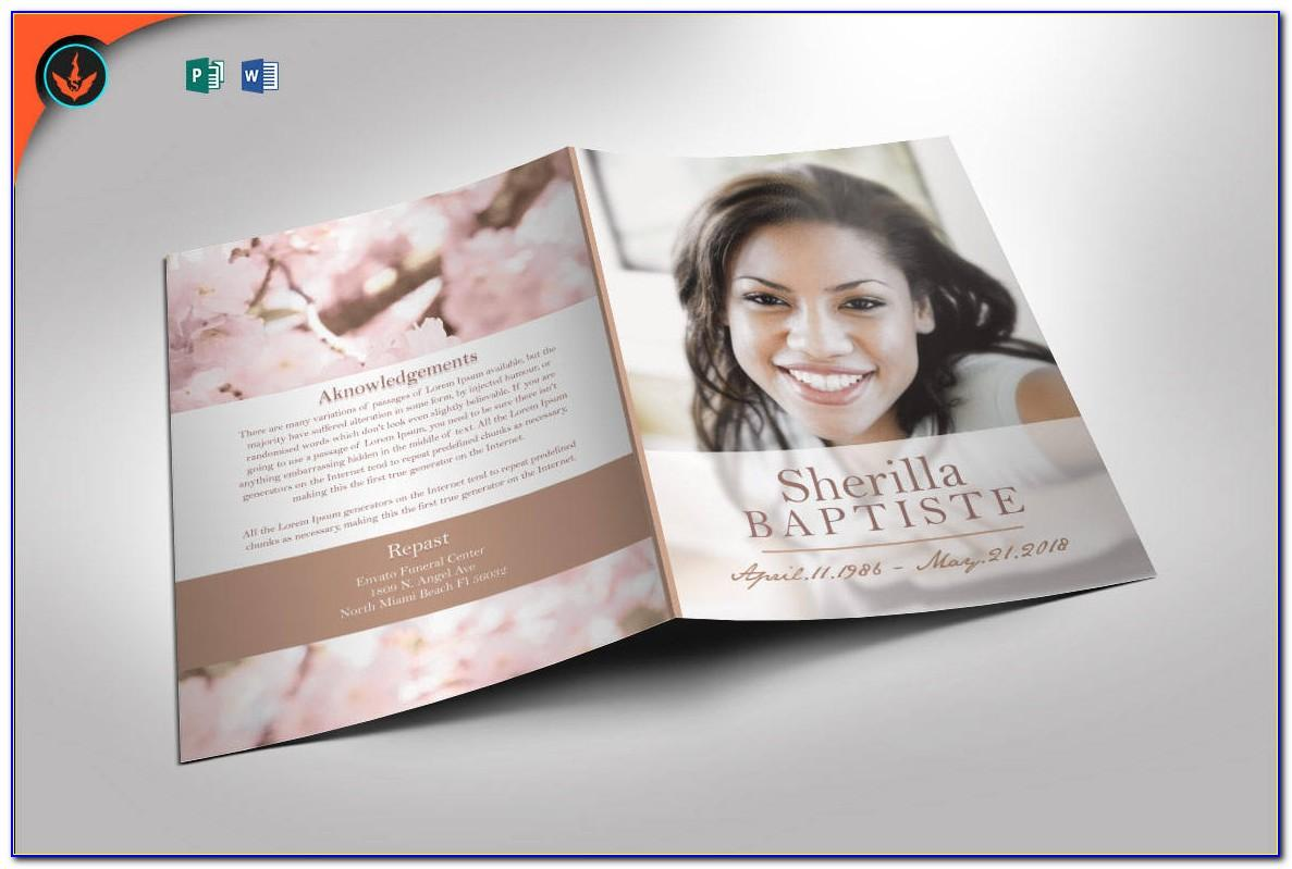 Free Downloadable Wedding Program Templates Pdf