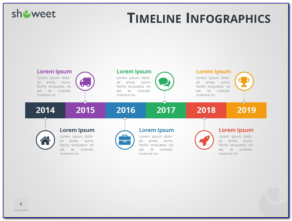 Free Ppt Templates For Timeline