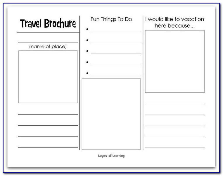Free Printable Brochure Template For Students