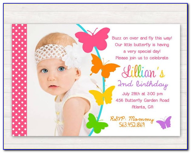 Free Printable Butterfly Wedding Invitation Templates