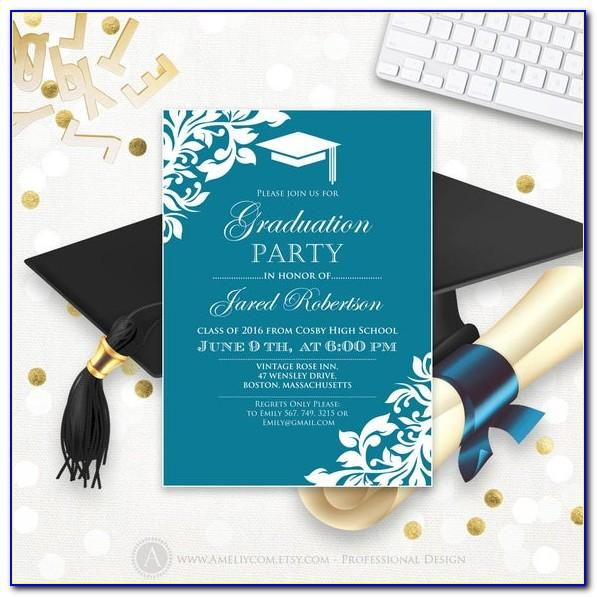 Free Printable Kindergarten Graduation Invitation Templates