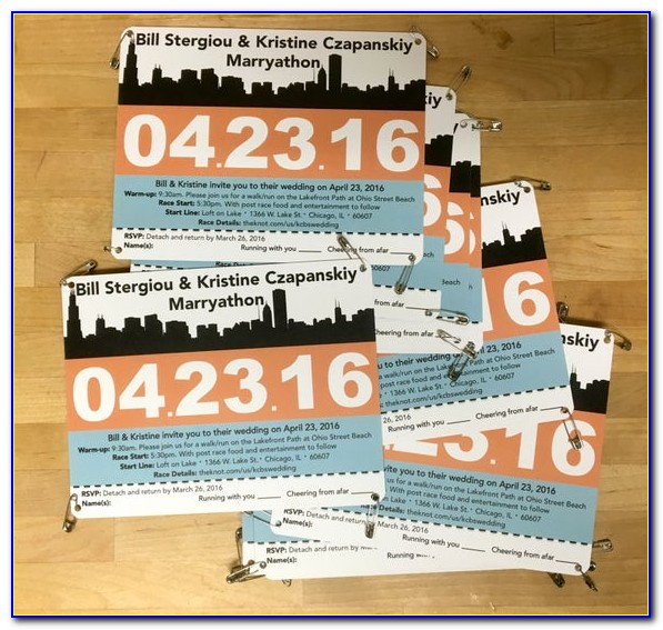 Free Printable Race Bib Template