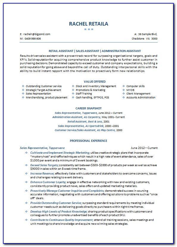 Free Professional Resume Templates 2017