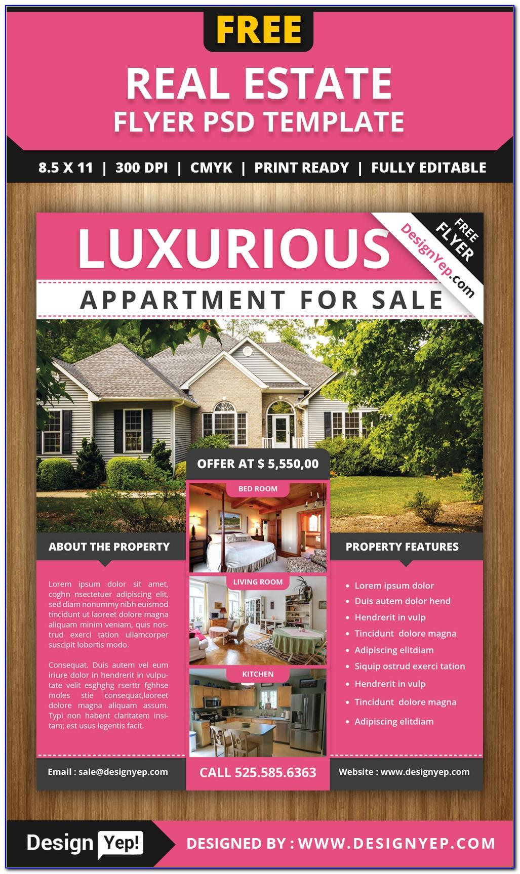 Free Property Management Flyer Template