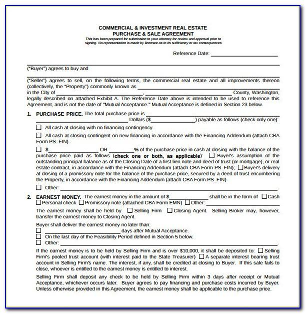 Free Property Sale Agreement Template