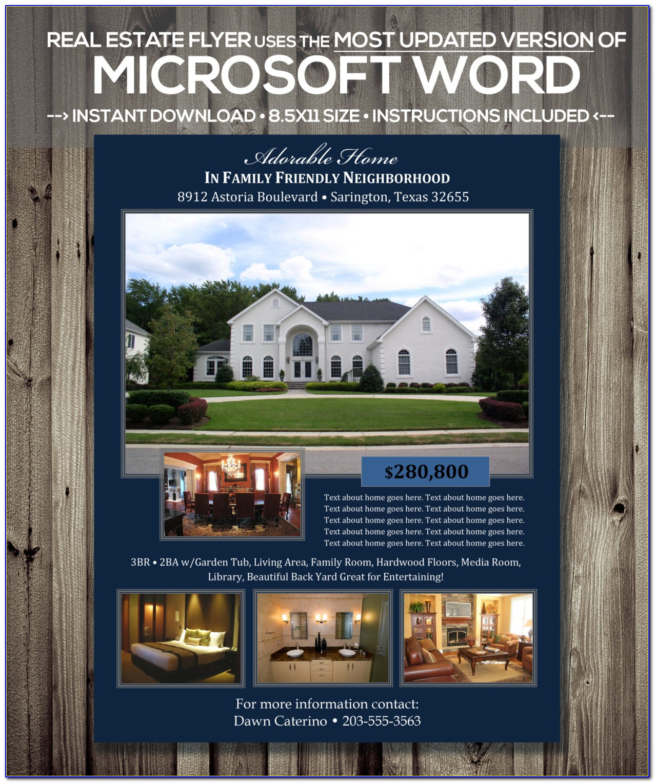 Free Real Estate Brochure Design Templates