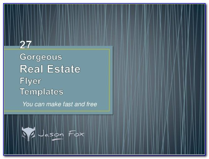 Free Real Estate Flyer Templates For Sale By Owner
