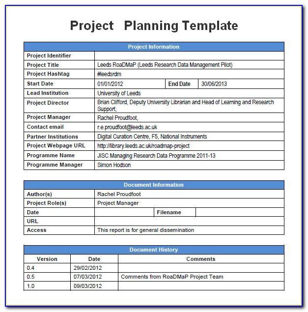 Gantt Project Planner Template Excel Download