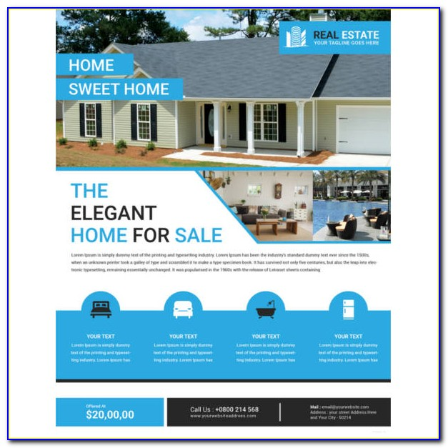 Indesign Real Estate Brochure Templates Free