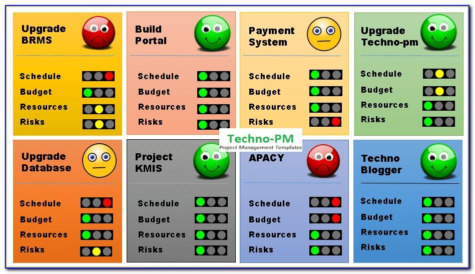 Microsoft Project Management Templates Free Download