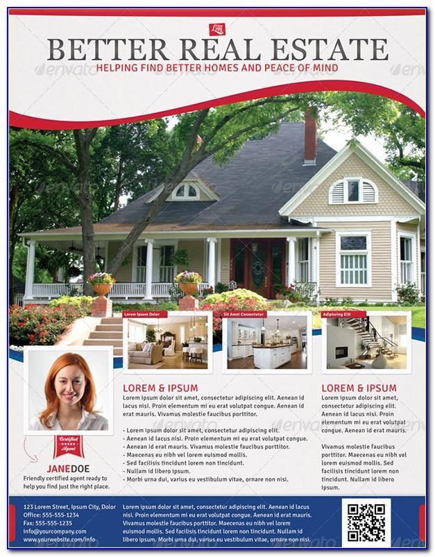 Photoshop Real Estate Flyer Templates