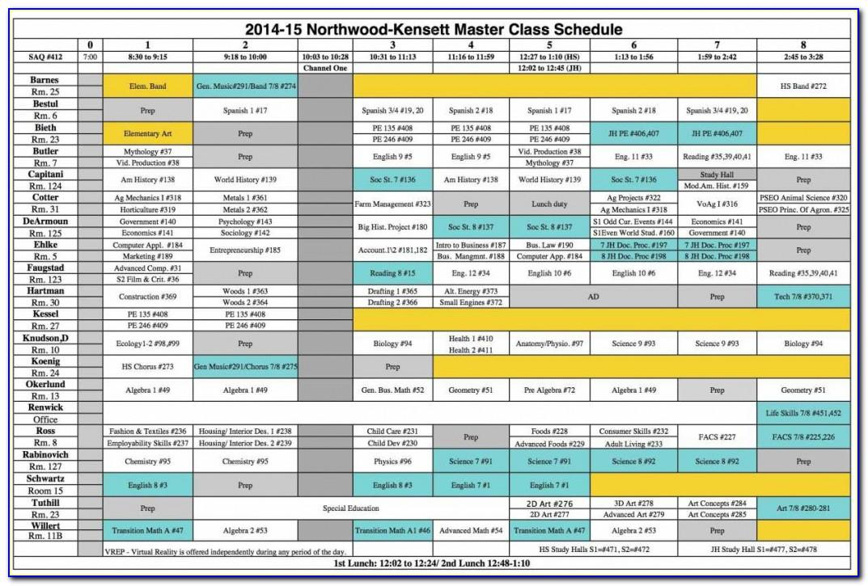 Pre Production Schedule Template Film