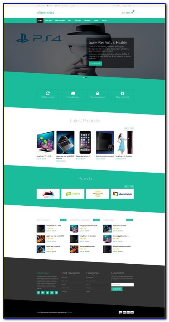 Premium Ecommerce Wordpress Theme Free Download