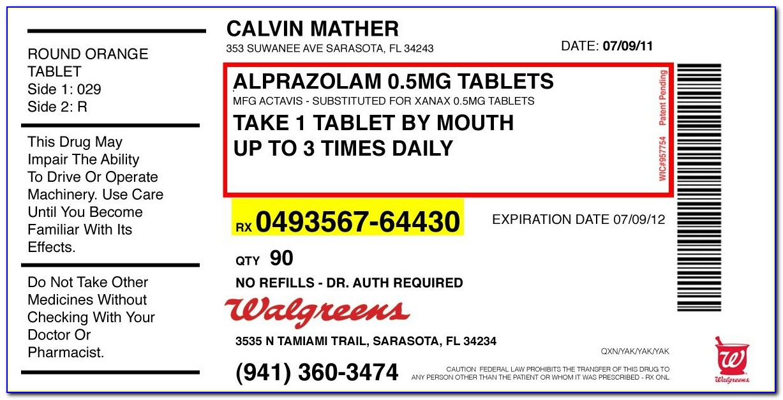 Prescription Bottle Label Template Microsoft Word