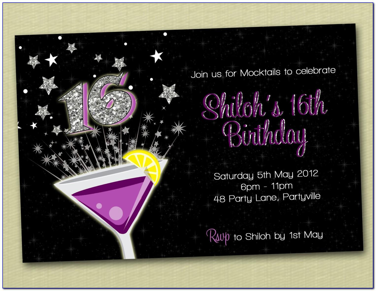 Printable 50 Th Birthday Invitations Templates