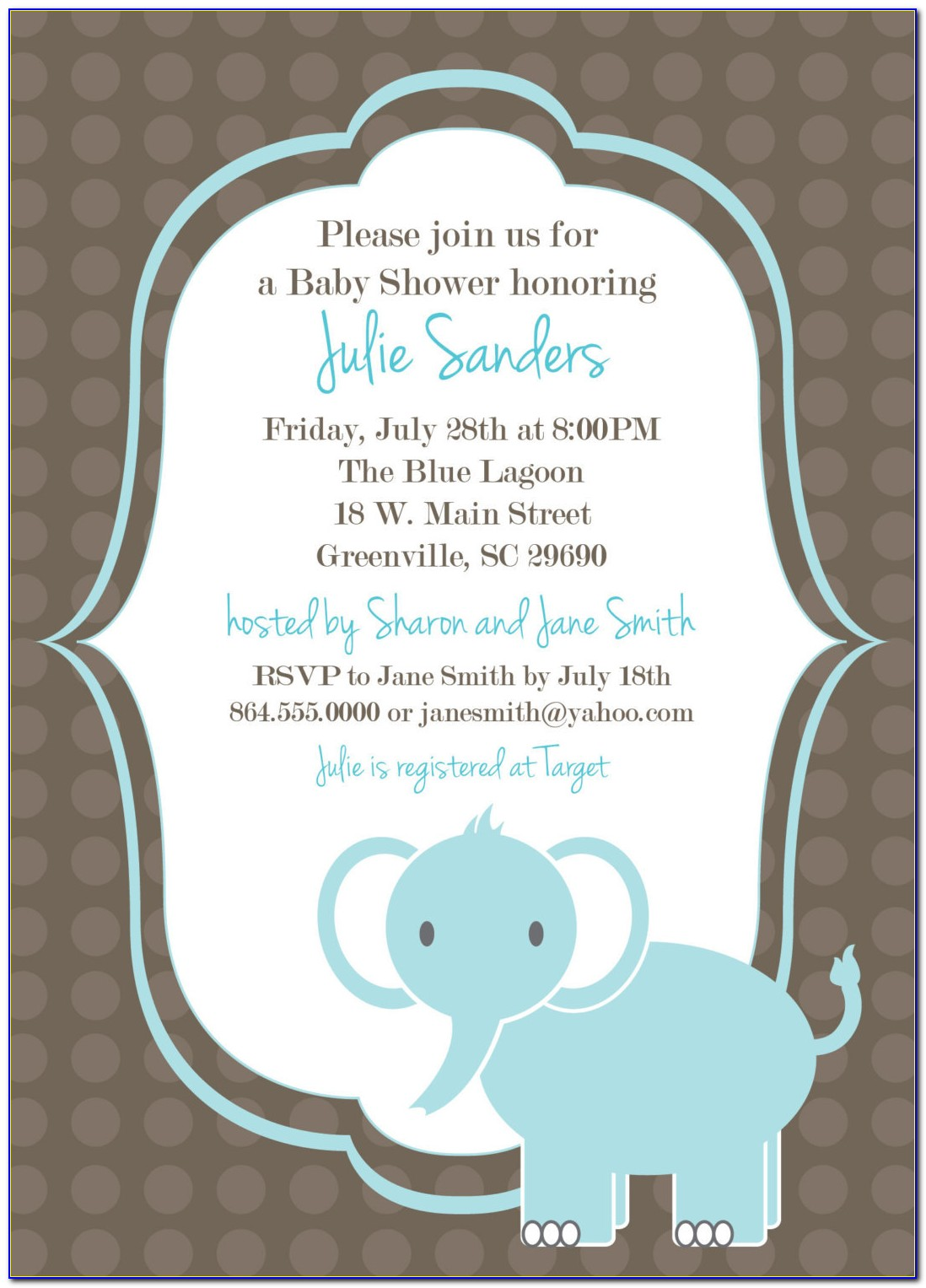 Printable Baby Invitations Templates