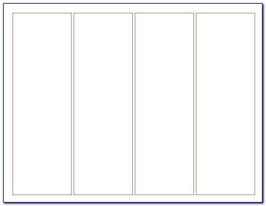 Printable Bookmark Templates Blank