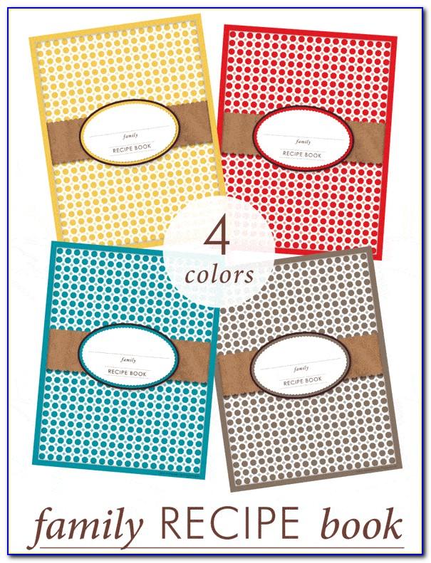 Printable Recipe Book Cover Template