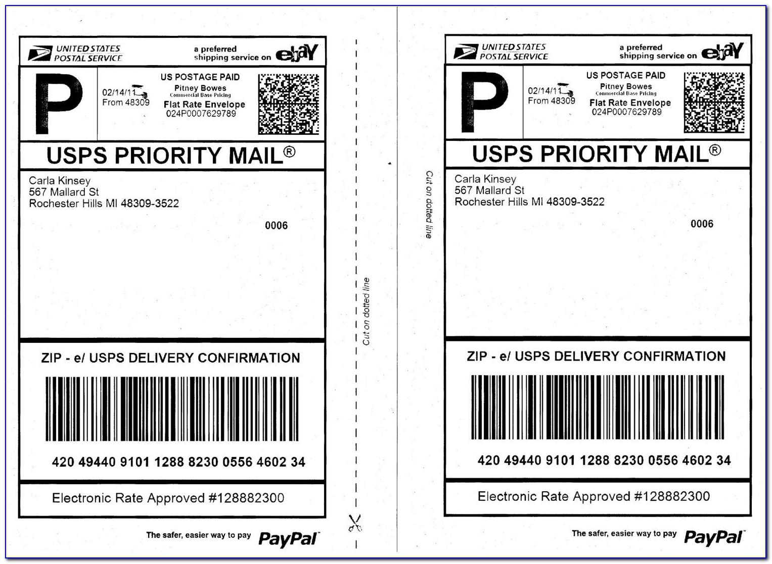 Priority Mail Label 228 March 2016 Template