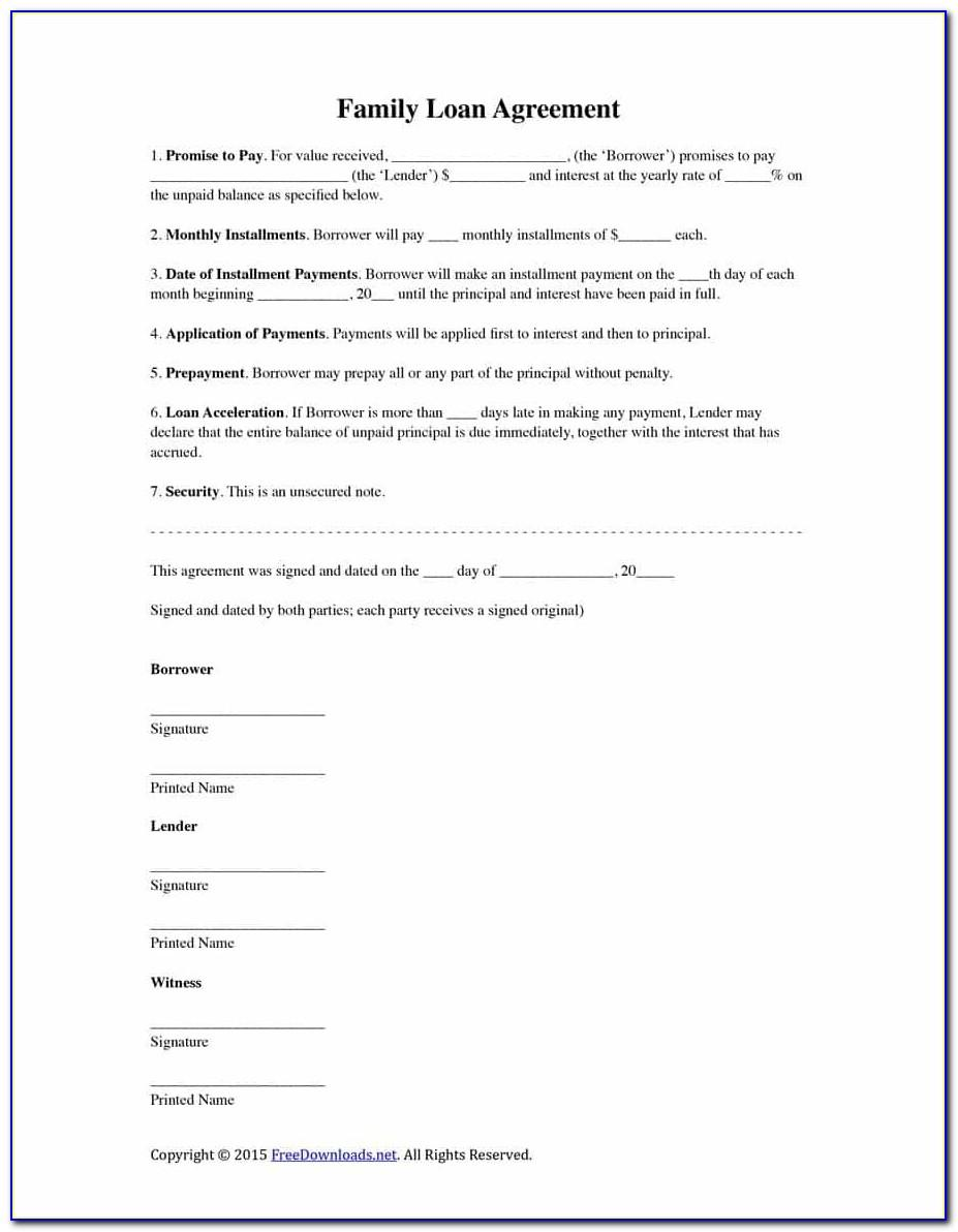 Private Mortgage Agreement Template Uk