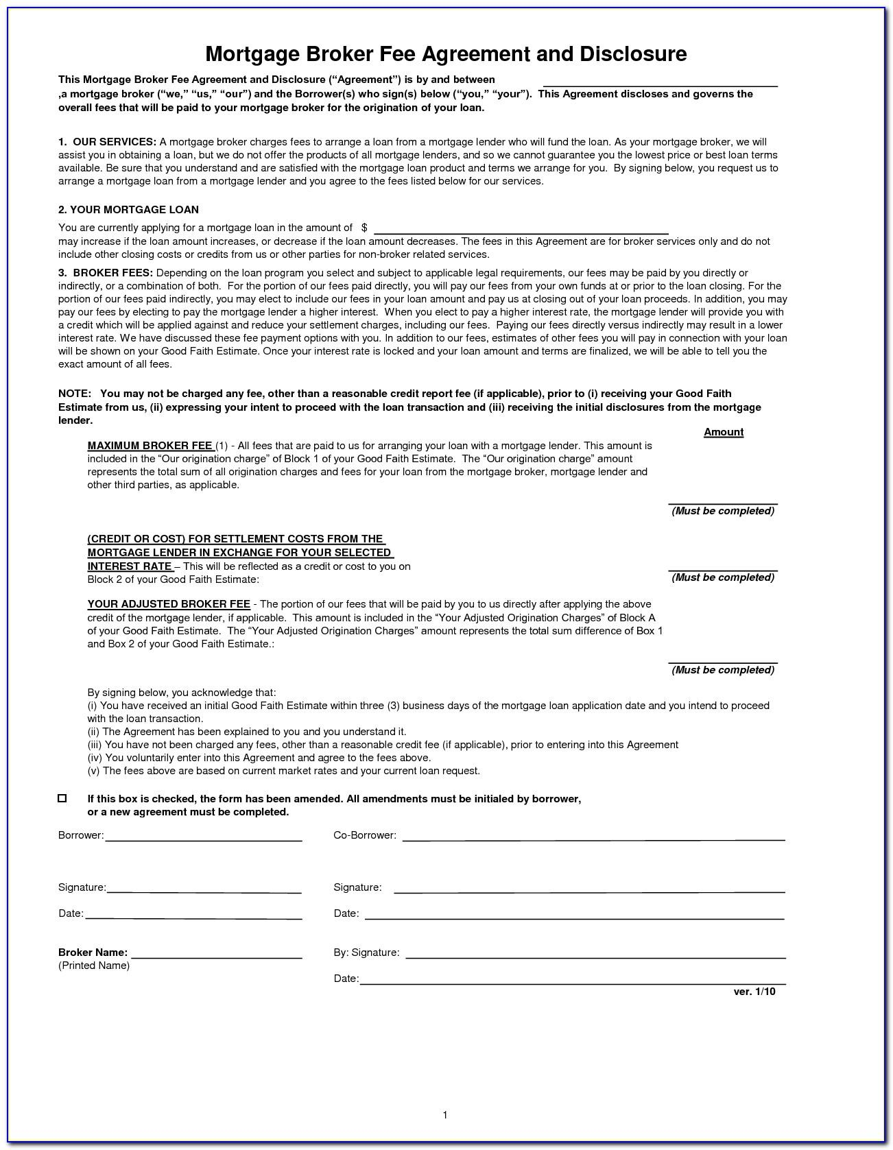 Private Mortgage Document Uk