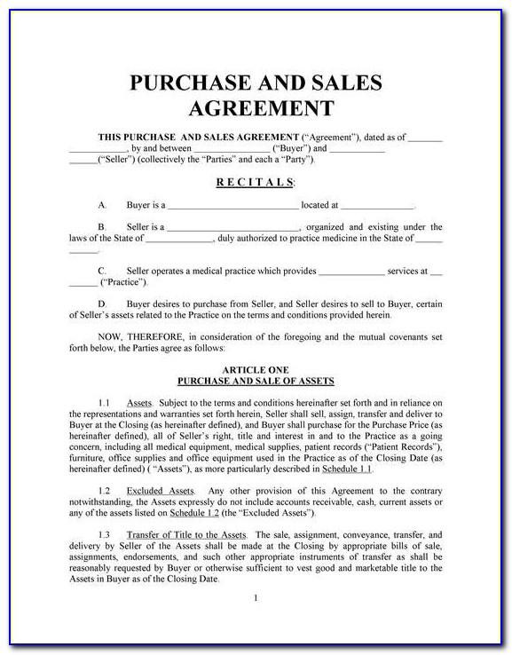 Private Property Sale Agreement Template South Africa
